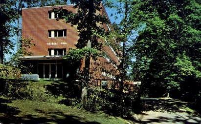 Davis & Elkins College - West Virginia WV Postcard