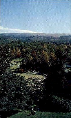 Davis-Elkins Campus  - West Virginia WV Postcard