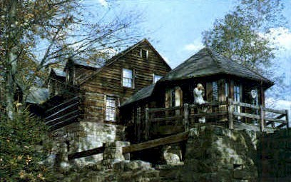 Museum  - Hawk's Nest State Park, West Virginia WV Postcard