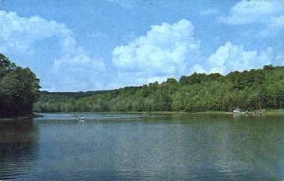 Caesar Lake  - MIsc, West Virginia WV Postcard