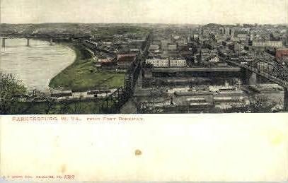 Fort Boreman  - Parkersburg, West Virginia WV Postcard