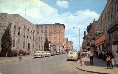 Martin St.  - Beckley, West Virginia WV Postcard