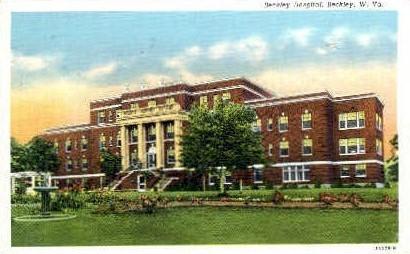 Beckley Hospital  - West Virginia WV Postcard
