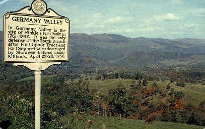 Germany Valley  - Elkins, West Virginia WV Postcard