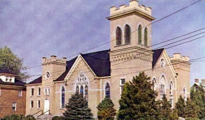 First Baptist Church  - Cuckannon, West Virginia WV Postcard