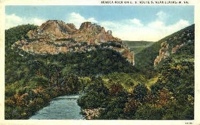 Elkins, West Virginia, WV Postcard