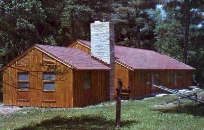 Recreation Building  - Mathias, West Virginia WV Postcard
