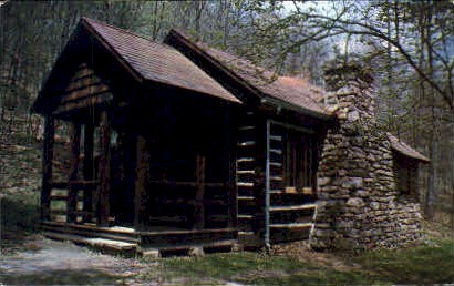 Standard Vacation Cabin  - Lost River State Park, West Virginia WV Postcard
