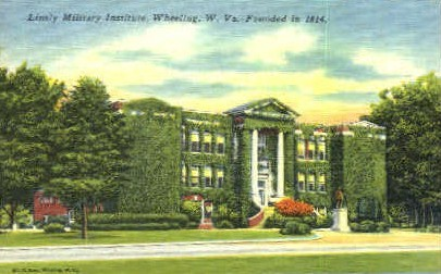 Linsly Military Institute  - Wheeling, West Virginia WV Postcard