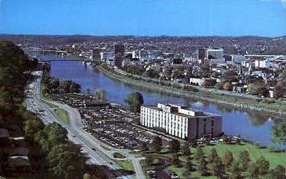 Skyline  - Charleston, West Virginia WV Postcard