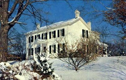 The Park Home  - Ravenswood, West Virginia WV Postcard