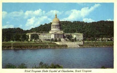 State Capitol  - Charleston, West Virginia WV Postcard