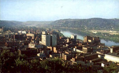 Wheeling , West Virginia, WV Postcard
