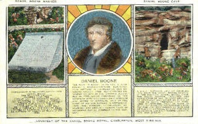 Daniel Boone Hotel  - Charleston, West Virginia WV Postcard