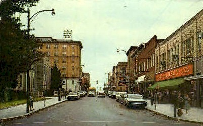 Main Street  - Beckley, West Virginia WV Postcard