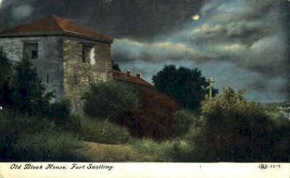 Old Block House  - Fort Snelling, West Virginia WV Postcard
