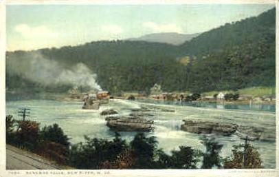 Kanawha Falls  - New River, West Virginia WV Postcard