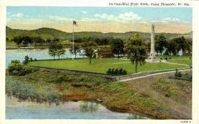 Tu-Endi_Wei State Park  - Point Pleasant, West Virginia WV Postcard