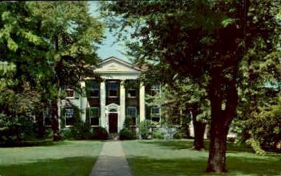 Clarksburg Public Library  - West Virginia WV Postcard