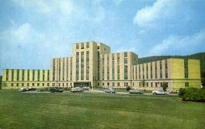 Charleston Memorial Hospital  - West Virginia WV Postcard