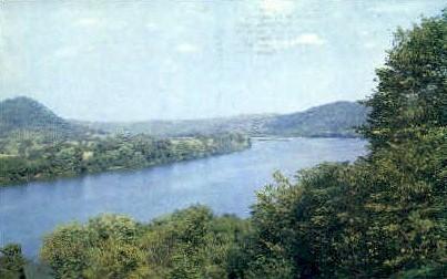 Ohio River & Ohio River Valley - MIsc, West Virginia WV Postcard