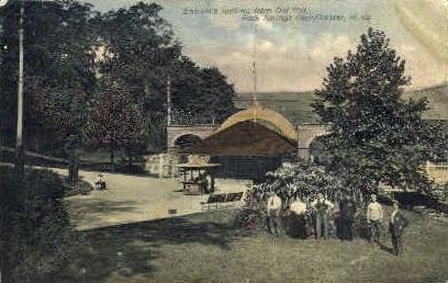 Old Mill, Rock Springs Park  - Chester, West Virginia WV Postcard