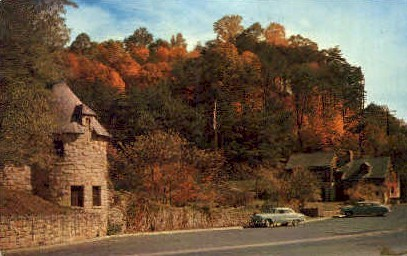 Hawks Nest Park - MIsc, West Virginia WV Postcard
