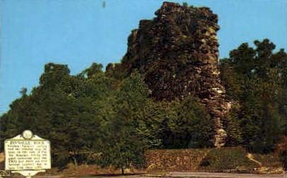 Pinnacle Rock  - Bluefield, West Virginia WV Postcard