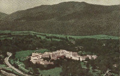 The Greenbrier Hotel & Cottages - White Sulphur Springs, West Virginia WV Postcard