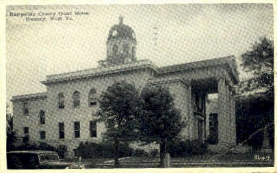 Hampshire County Court House  - Romney, West Virginia WV Postcard