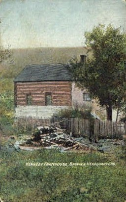 Kennedy Farm Home  - MIsc, West Virginia WV Postcard