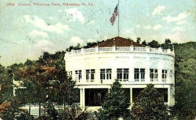 Casino, Wheeling Park  - West Virginia WV Postcard