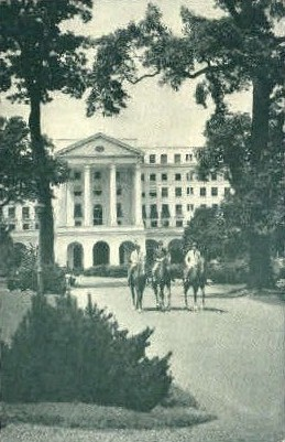 The Greenbrier Hotel   - White Sulphur Springs, West Virginia WV Postcard