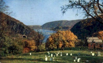 From Charleston - Harpers Ferry, West Virginia WV Postcard