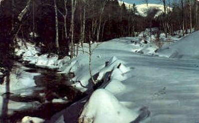 The Mountain Winter Wonderland  - MIsc, West Virginia WV Postcard