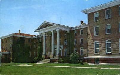 Alderson-Broaddus College - Philippi, West Virginia WV Postcard