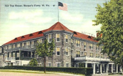 Hill Top House  - Harpers Ferry, West Virginia WV Postcard