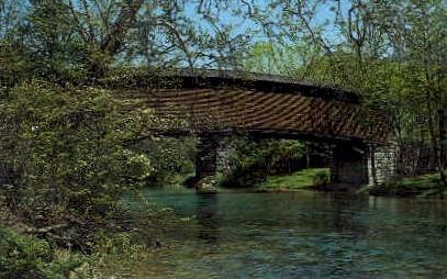 Humpback Bridge - Covington, West Virginia WV Postcard