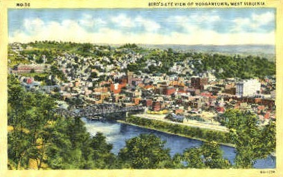 Morgantown - West Virginia WV Postcard