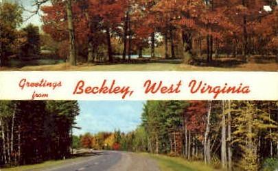Beckley - West Virginia WV Postcard