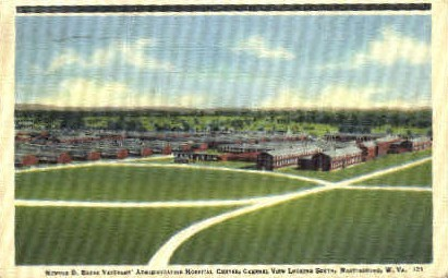Newton D. Baker Hospital Center - Martinsburg, West Virginia WV Postcard