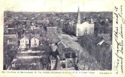 Martinsburg - West Virginia WV Postcard