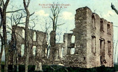 Old Stone Church  - Charles Town, West Virginia WV Postcard