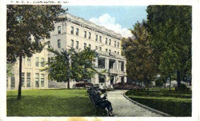 Y. M. C. A. - Charleston, West Virginia WV Postcard