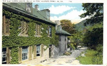 Old Harper House - Harpers Ferry, West Virginia WV Postcard