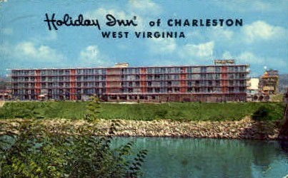 Holiday Inn - Charleston, West Virginia WV Postcard