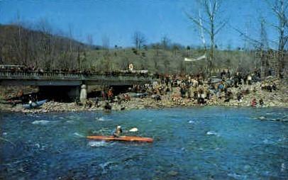 White Water Weekend - Petersburg, West Virginia WV Postcard