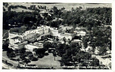 Greenbrier Hotel  - White Sulphur Springs, West Virginia WV Postcard