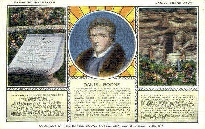 Daniel Boone Hotel  - Charleston, West Virginia WV Postcard