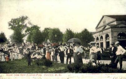 Rock Springs Park - Chester, West Virginia WV Postcard